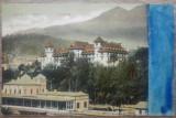 Sinaia, Gara si Hotel Caraiman// CP