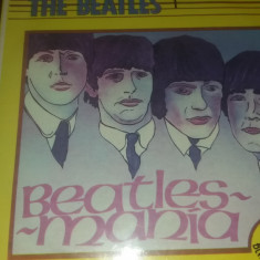 DISC VINIL THE BEATLES - BEATLES MANIA