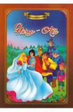 Harap-Alb. Carte de colorat cu povesti
