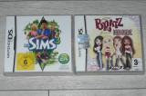 Joc nintendo DS Sims 3,Brtatz-Forever Diamondz 25 lei buc
