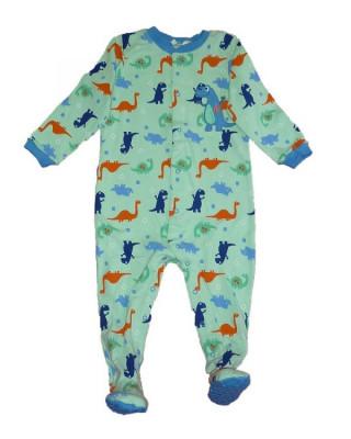 Salopeta / Pijama bebe cu dinozauri Z113 foto