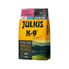 Julius K9 Adult-Miel si Ierburi - 10kg - Hrana completa super-premium,...