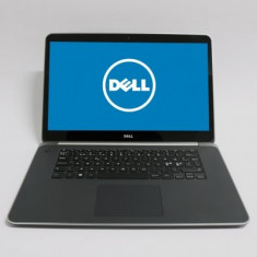 Laptop Dell Precision M3800, Intel Core i7 Gen 4 4712HQ 2.3 Ghz, 16 GB DDR3, 256 GB SSD, Wi-Fi, Bluetooth, WebCam, Tastatura iluminata, Placa Video NV