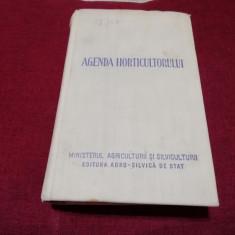 AGENDA HORTICULTORULUI 1958