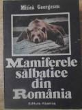 MAMIFERELE SALBATICE DIN ROMANIA-MITICA GEORGESCU