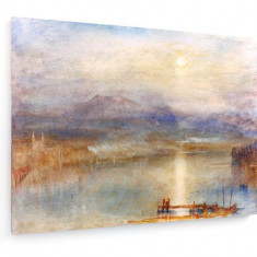 Tablou pe panza (canvas) - William Turner - Lake Lucerne - 1841-44