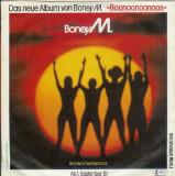 """Boney M. - Malaika / Consuela Biaz (1981, Hansa) Disc vinil single 7"""""""