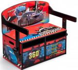 Cumpara ieftin Mobilier 2 in 1 pentru depozitare jucarii Disney Lightning McQueen