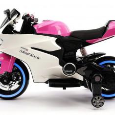SUPERBA MOTOCICLETA ELECTRICA DUCATI,MOTOR 12V,LUMINI LED,MP3 USB,UN CADOU WAW!, Alb, toys toys