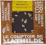 Tableta de ciocolata Comptoir de Mathilde neagra cu nuci si alune | Comptoir de Mathilde