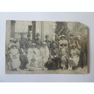 Fotografie/carte postala colectie familia regala romana,studioul Julietta anii20