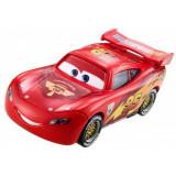 Masinuta Cars 3 Lightning McQeen cu roti de concurs, Mattel