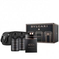 Bvlgari Bvlgari Man In Black Set 100+75+75 pentru barbati