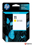 Cartus cu cerneala original expirat HP 11 Yellow pentru HP Business InkJet 1000 1100D 1200 2200 2300 2600 2800 OfficeJet 9110 9120 9130 OfficeJet Pro