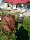 Cazan tuica aluminiu 45 litri, cu racitor