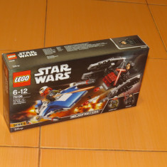 Lego Star Wars A-Wing vs TIE Silencer Microfighters 75196 NOU