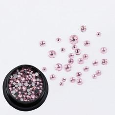 Cristale Swarovski pentru nail art 1-5mm - Roz