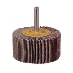 Perie de slefuit cu tija smirghel 80 mm granulatie 60