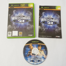 Joc Xbox Classic - Wrestle Mania 21 Become a Legend, Actiune, Toate varstele, Single player