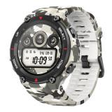 Smartwatch Amazfit T-Rex Rock, ecran 1.3 inch, Bluetooth 5.0, 390 mAh, GPS, Camo Green