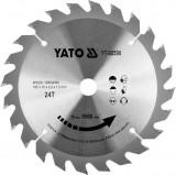 Disc circular pentru lemn 165 x 24t x 16mm Yato YT-60590