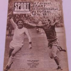 Revista SPORT-nr.7/07.1982(prezentare Jiul Petrosani)
