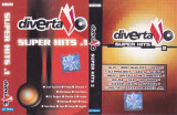 Caseta audio: Diverta Super Hits 1 & 2 ( 2001 - set 2 casete originale )