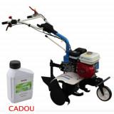Motosapa AGT 6500 PREMIUM, Honda GX200, 6.5 CP, benzina, 2+1 viteze + roti 4.00-8, plug bilonat