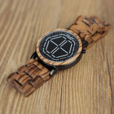 Cumpara ieftin Ceas din lemn Bobo Bird led, P13 verde