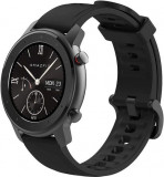 Smartwatch Huami Amazfit GTR Lite, Display AMOLED 1.39inch, Bluetooth, Bratara Cauciuc 47mm, Android/iOS (Negru)