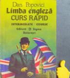 Limba engleza Curs rapid  Dan Popovici  nivel intermediar