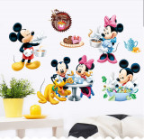 Cumpara ieftin Autocolant Mickey and Minnie Mouse 2 Sticker Perete 2020,DECOR CAMERA COPIILOR
