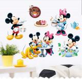 Autocolant Mickey and Minnie Mouse 2 Sticker Perete 2020,DECOR CAMERA COPIILOR
