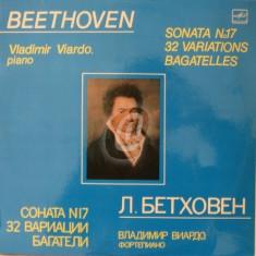 L. Beethoven - Sonata No. 17, 32 Variations, Bagatelles (Vinil)