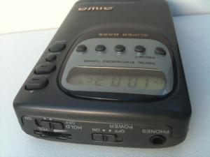Aiwa radio portabil Digital Receiver LCD de buzunar functional Super Bass Memory