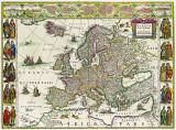 Harta Europa 1630 |