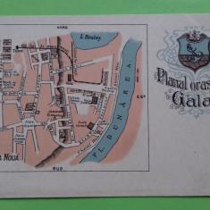 Galati Litografie Harta