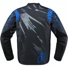 Jacheta moto Icon Overload Reaver culoare albastru marime 2XL Cod Produs: MX_NEW 28203504PE
