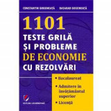 1101 teste grila si probleme de economie si rezolvari