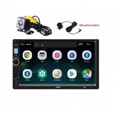 Navigatie universala 2Din, dvd mp5 player auto ANDROID 8.1 GPS, Wifi, Play Store, Bluetooth Microfon foto