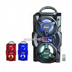 Boxa Portabila cu Bluetooth, FM, USB si Telecomanda Ailiang UF3702DT