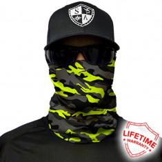 Bandana/Face Shield/Cagula/Esarfa - Surge  Military Camo, made in USA