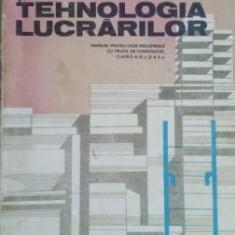 Constructii si tehnologia lucrarilor. Manual pentru licee industriale cu profil de constructii- I. Davidescu, C. Rosoga