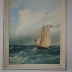 TABLOU VECHI, Marine, Ulei, Realism