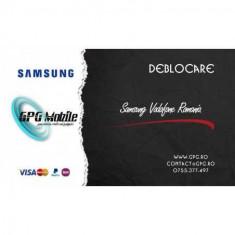 Deblocare Samsung Romania Vodafone