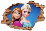 "Sticker ""Wall Crack"" Frozen 8 - 120 x 80 cm"
