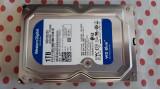HDD 1 Tb 3,5 inch Western Digital Blue Sata3 64MB Cache,Garantie., 1-1.9 TB, 7200, SATA 3