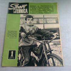 REVISTA SPORT SI TEHNICA NR.1/1973