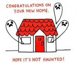 Felicitare Hope It's Not Haunted | OHH Deer
