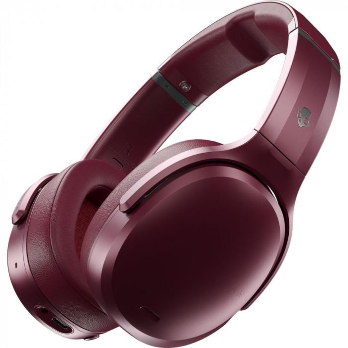 Casti On-Ear SKULLCANDY Crusher ANC, Wireless, Deep Red